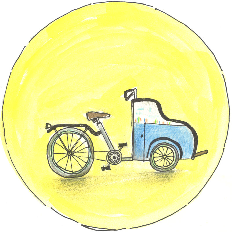 Bakkie-Troost-fietst